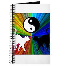 YIN YANG RAINBOW CATS Journal