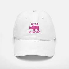 Save The Fat Unicorns Baseball Baseball Cap