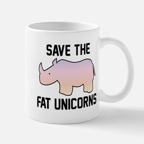 Save The Fat Unicorns Mug
