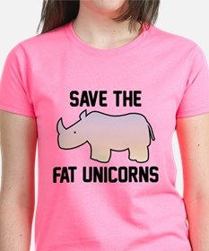 Save The Fat Unicorns Tee