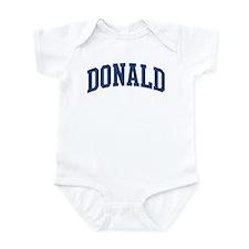 DONALD design (blue) Infant Bodysuit