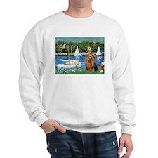 Sailboats & Yorkie #7 Sweatshirt