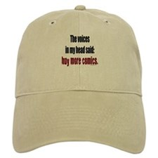 Buy more comic books voices Baseball Cap