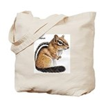 Ground Squirrel Chipmunk Tote Bag