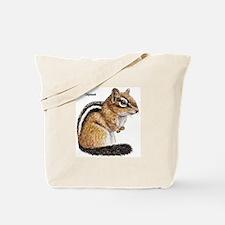Ground Squirrel Chipmunk Tote Bag