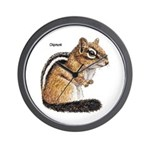 Ground Squirrel Chipmunk Wall Clock