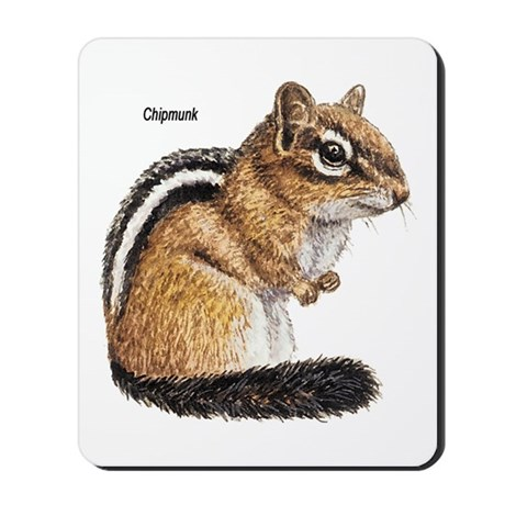Ground Squirrel Chipmunk Mousepad