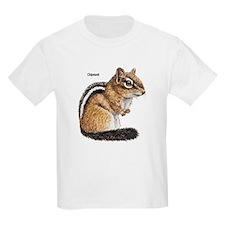 Ground Squirrel Chipmunk (Front) Kids T-Shirt