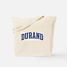 DURAND design (blue) Tote Bag