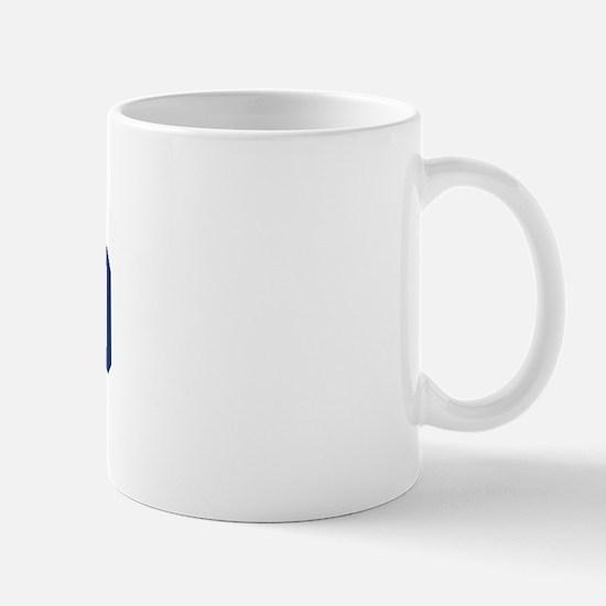 DURAND design (blue) Mug