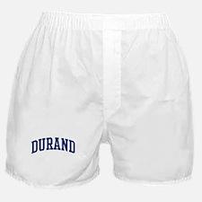 DURAND design (blue) Boxer Shorts