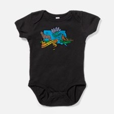 Cute South dakota Baby Bodysuit