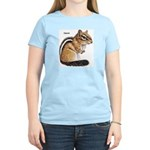 Ground Squirrel Chipmunk Women's Pink T-Shirt