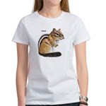 Ground Squirrel Chipmunk (Front) Women's T-Shirt