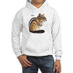 Ground Squirrel Chipmunk Hooded Sweatshirt