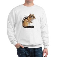 Ground Squirrel Chipmunk Sweatshirt