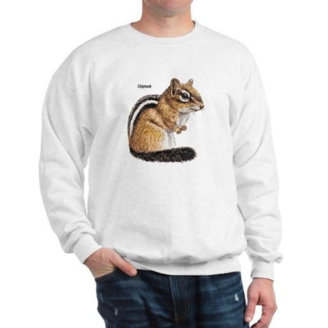 Ground Squirrel Chipmunk (Front) Sweatshirt