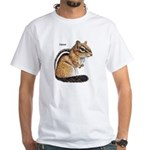Ground Squirrel Chipmunk White T-Shirt