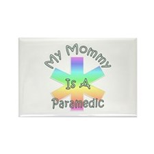 Paramedic Mom Rectangle Magnet