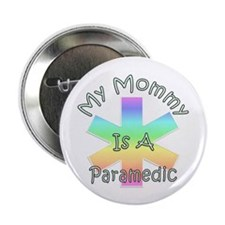 """Paramedic Mom 2.25"""" Button (10 pack)"""