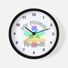 Paramedic Mom Wall Clock