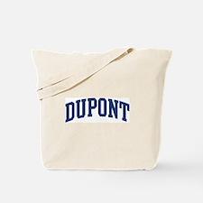 DUPONT design (blue) Tote Bag