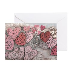 Little Lonely Cupid Greeting Card