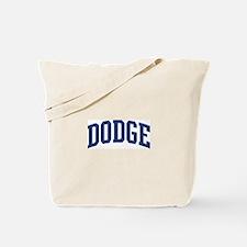 DODGE design (blue) Tote Bag