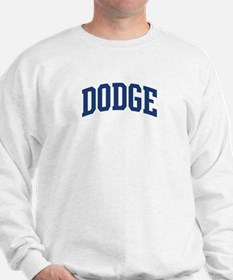 DODGE design (blue) Sweatshirt
