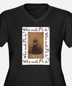 What would Flo Do? Plus Size T-Shirt