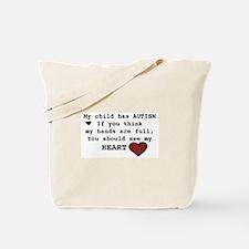 Full heart Tote Bag