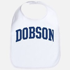 DOBSON design (blue) Bib