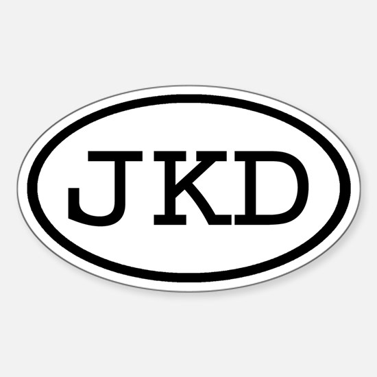JKD Oval Oval Decal