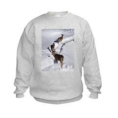 SNOW DEER Sweatshirt