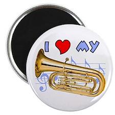 I *HEART* My Tuba Magnet