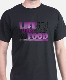 Life-is-too-short-Purple T-Shirt