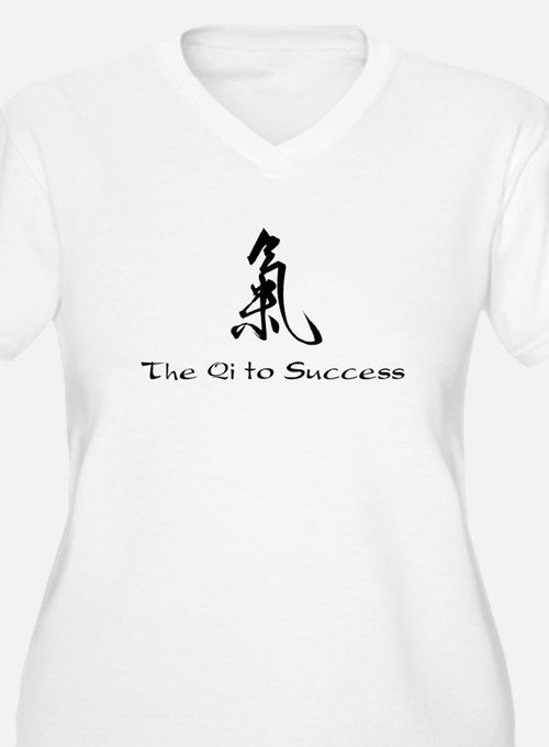 Qi to Success (key to success) Plus Size T-Shirt