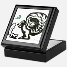 Black and White Keepsake Box