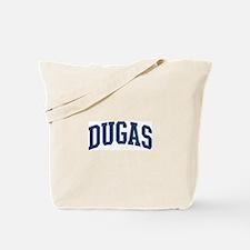 DUGAS design (blue) Tote Bag