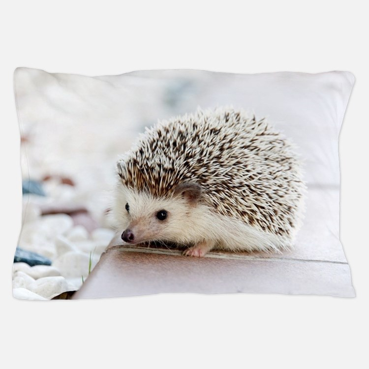 Cute Hedgehog Pillow Case