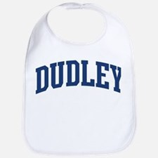 DUDLEY design (blue) Bib