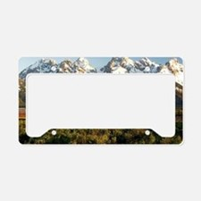 Cute Landscape License Plate Holder