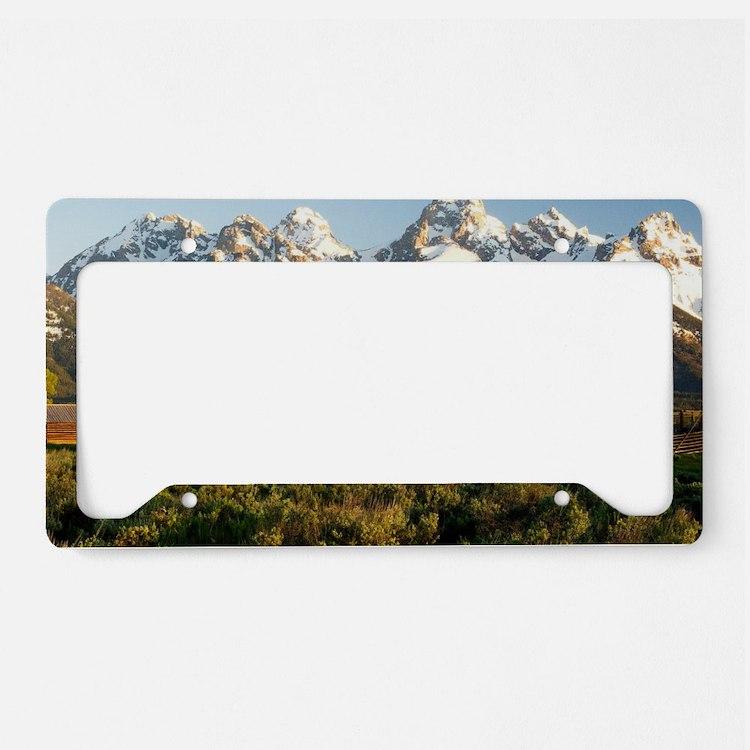Cute Landscapes License Plate Holder