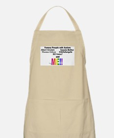 Famous people with autism Apron