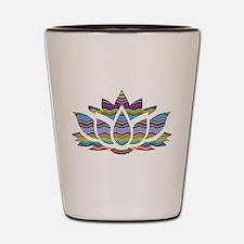 Unique Lotus Shot Glass