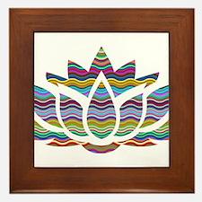 Cute Tulane green wave Framed Tile