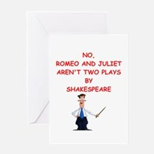 romeo and juliet Greeting Cards