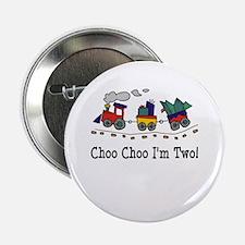 Choo Choo I'm 2 Button