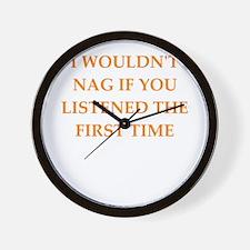 nag Wall Clock