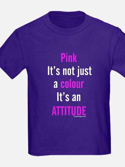 Pink Attitude T-Shirt